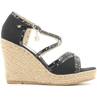 Zapatos Mujer Sandalias Laura Biagiotti 814 Wedge sandals Mujeres Black Black