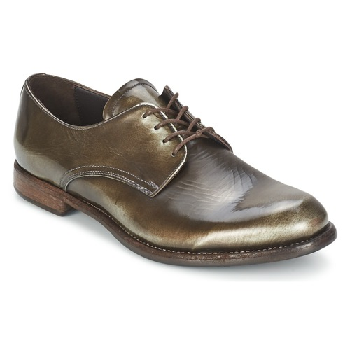 Zapatos Mujer Derbie n.d.c. FULL MOON MIRAGGIO Negro / Moiré