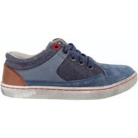 Zapatos Niño Zapatillas bajas Kickers 469380-30 LYLIAN Azul