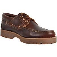 Zapatos Hombre Zapatos náuticos Camper NAUTICO Marron