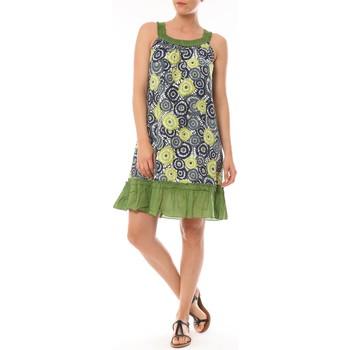 textil Mujer Vestidos cortos By La Vitrine Robe Dublin imprimée Géometrique Verde