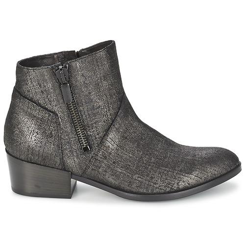 Mujer Botas amp;janet De Baja Negro Zapatos Caña Janet Villia htsQrdC