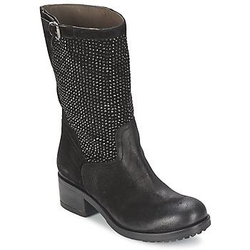 Zapatos Mujer Botas de caña baja Now DIOLA Negro