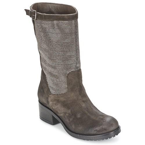 Los últimos zapatos de descuento para hombres y mujeres Now DOUREL Gris - Envío gratis Nueva promoción - Zapatos Botas urbanas Mujer  Gris