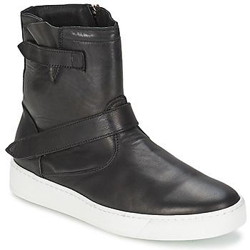 Zapatos Hombre Botas de caña baja Ylati CAPPELLA Negro