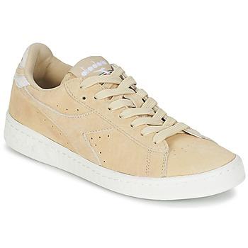 Zapatos Mujer Zapatillas bajas Diadora GAME LOW SUEDE Beige