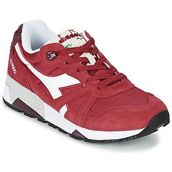 Zapatos Zapatillas bajas Diadora N9000 III Rojo