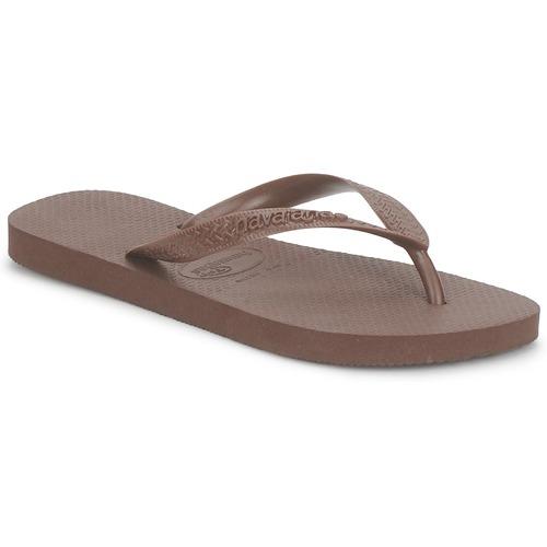 Zapatos Chanclas Havaianas TOP Marrón