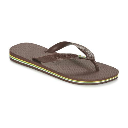 Zapatos Chanclas Havaianas BRASIL Marrón