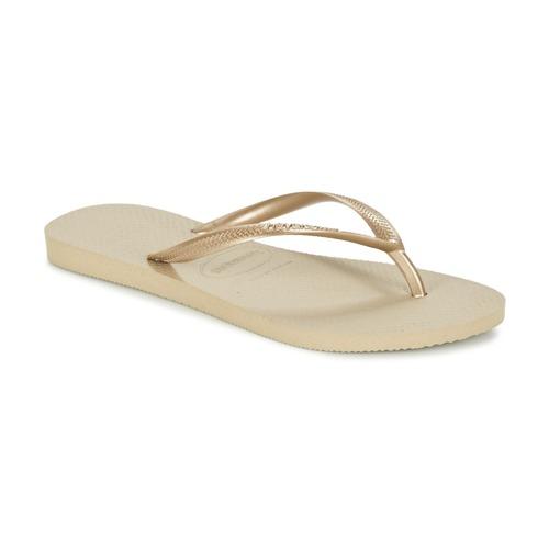 Havaianas SLIM Dorado - Envío gratis | ! - Zapatos Chanclas Mujer