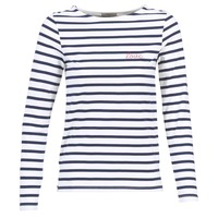 textil Mujer Tops / Blusas Betty London FLIGEME Blanco / Azul