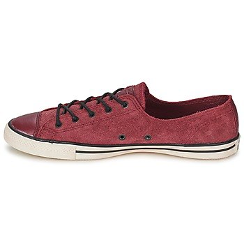 Converse Chuck Taylor All Star FANCY LEATHER OX Burdeo