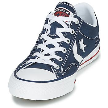 Converse STAR PLAYER CORE CANVAS OX Marino / Blanco