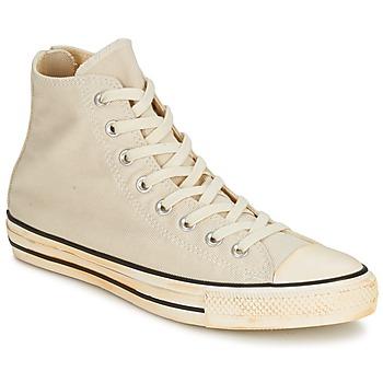 Zapatos Zapatillas altas Converse Chuck Taylor All Star VINTAGE WASHED BACK ZIP TWILL HI Crudo