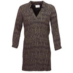 textil Mujer vestidos cortos Stella Forest BRO024 Kaki