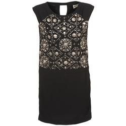 textil Mujer vestidos cortos Stella Forest BRO040 Negro