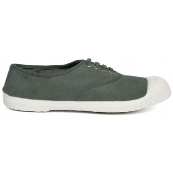 Zapatos Mujer Tenis Bensimon Tennis à Lacets KAKI Army Vert Verde