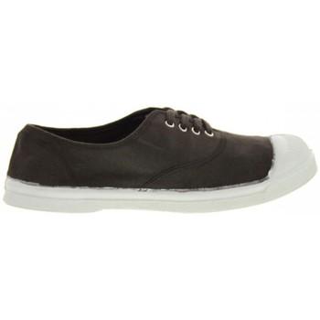 Zapatos Mujer Zapatillas bajas Bensimon Tennis à Lacets chocolat Marrón