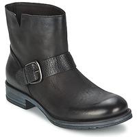 Zapatos Mujer Botas de caña baja Café Noir ROSAS Negro