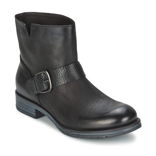 Café Noir ROSAS Negro - Envío gratis Botas Nueva promoción - Zapatos Botas gratis de caña baja Mujer 92,00 85cb52
