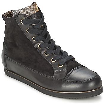 Zapatos Mujer Zapatillas altas Tosca Blu BANGKOK Negro