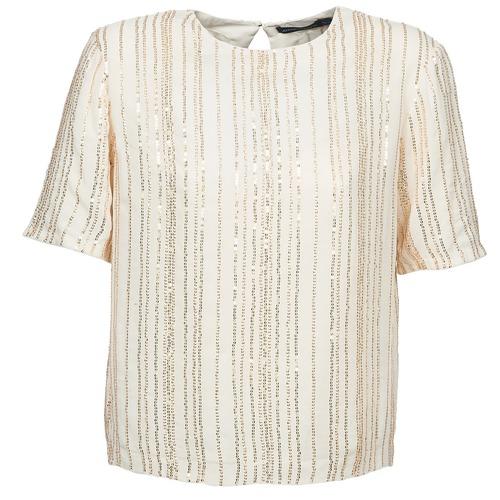 Antik Batik ROMINA Crema - Envío gratis | ! - textil blusas Mujer