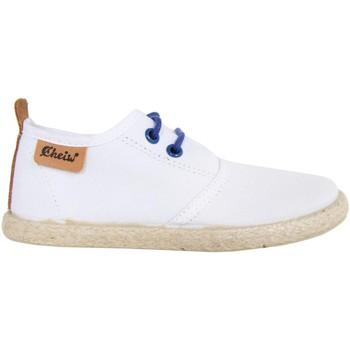Zapatos Niños Zapatos bajos Cheiw 47108 Blanco