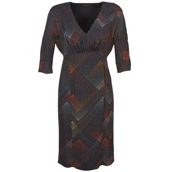 textil Mujer vestidos cortos Antik Batik ORION Negro