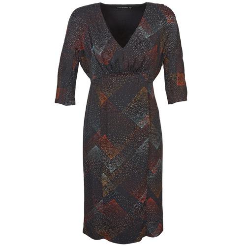 Antik Batik ORION Negro - Envío gratis   ! - textil vestidos cortos Mujer