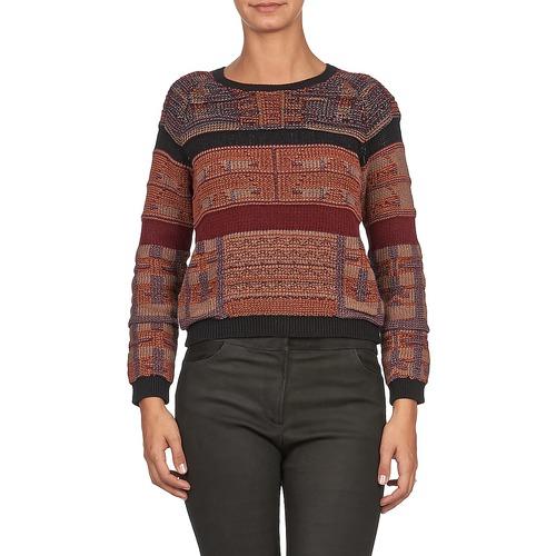Jerséis Amie Textil Batik Rojizo Antik Mujer P0nO8wk