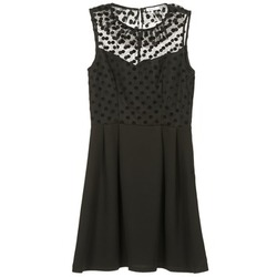 textil Mujer vestidos cortos Brigitte Bardot BB45057 Negro
