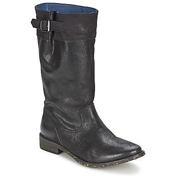 Zapatos Mujer Botas urbanas Schmoove SANDINISTA BOOTS Negro / Metal
