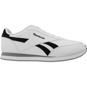 Zapatos Hombre Zapatillas bajas Reebok Sport Royal CL Jog 2L Blanco-Negro-Gris