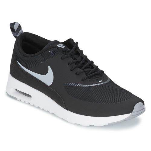 Zapatos Mujer Zapatillas bajas Nike AIR MAX THEA Negro / Wolf / Grey-Anthracite-Blanc