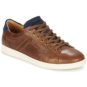 Zapatos Hombre Zapatillas bajas Redskins ORMIL Cognac / Marino