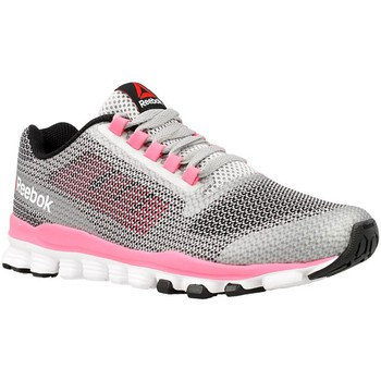 Zapatos Mujer Fitness / Training Reebok Sport Hexaffect Storm Gris-Rosa