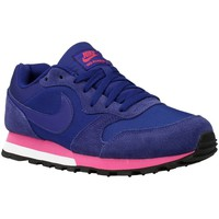 Zapatos Mujer Zapatillas bajas Nike MD Runner Azul