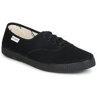 Zapatos Zapatillas bajas Victoria INGLESA LONA PISO Negro