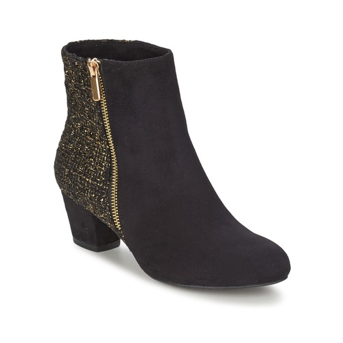 Zapatos Mujer Botines Chocolate Schubar GLORY Negro