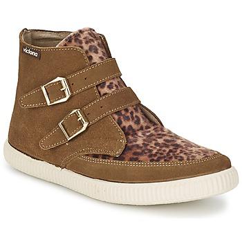 Zapatos Mujer Zapatillas altas Victoria 16706 Marrón