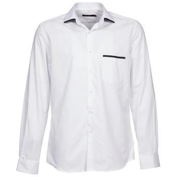textil Hombre camisas manga larga Pierre Cardin ANTOINE Blanco