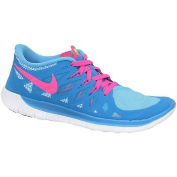 Zapatos Niño Zapatillas bajas Nike Free 50 GS Rosa