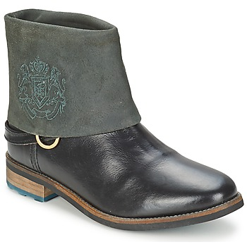Zapatos Mujer Botas de caña baja Gaastra BONEFISH Negro