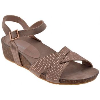Zapatos Mujer Sandalias F. Milano  Gris