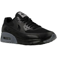 Zapatos Mujer Zapatillas bajas Nike W Air Max 90 Ultra Essential Grises-Negros