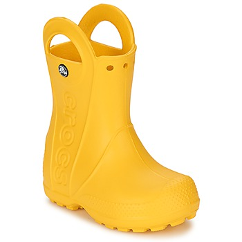 Zapatos Niños Botas de agua Crocs HANDLE IT RAIN BOOT KIDS Amarillo