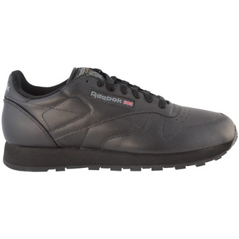 Zapatos Hombre Zapatillas bajas Reebok Sport Classic Leather Negros,Grises