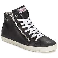 Zapatos Mujer Zapatillas altas Little Marcel PRATIK Negro