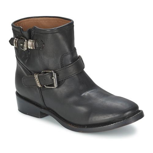 Zapatos Mujer Botas de caña baja Ash VICK Negro