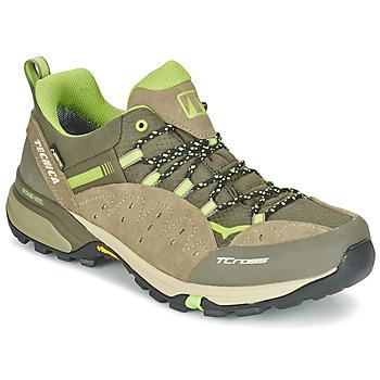 Zapatos Hombre Senderismo Tecnica T-CROSS LOW GORETEX Topotea / Verde